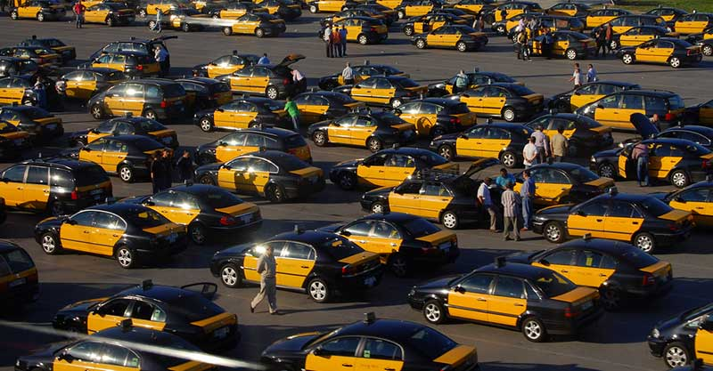 Taxi services at Barcelona Airport