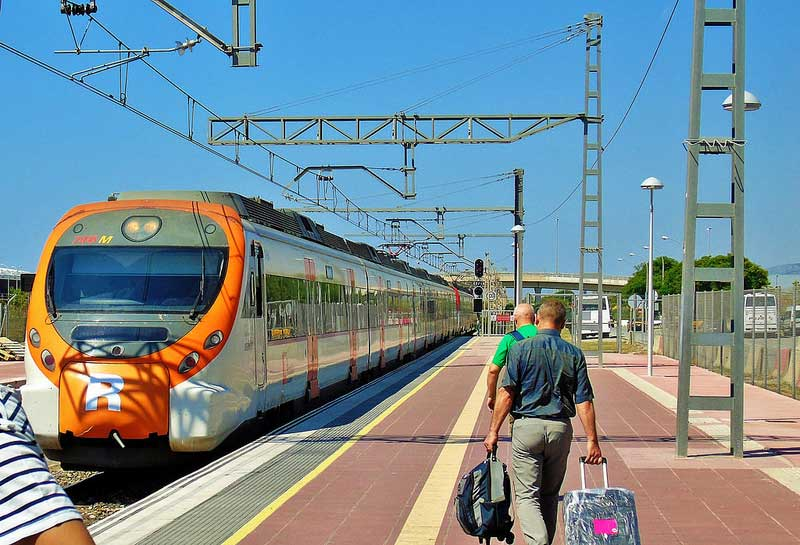 Train services at Barcelona Airport - Terminal 2